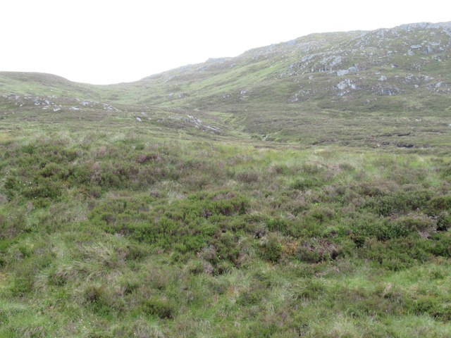 View on to lower slopes of Creag Mhor above upper Speyside