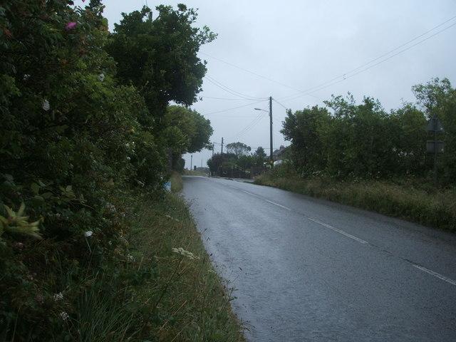 B3297 approaching Pencoys