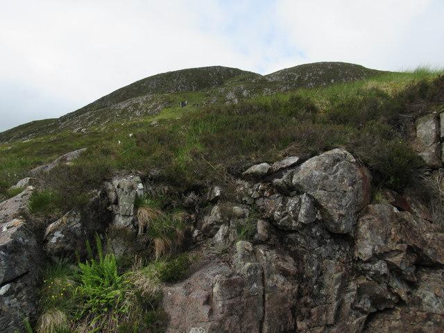 Carn Dearg high above upper Speyside