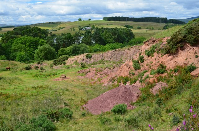 Old quarry, Eildon Wester Hill