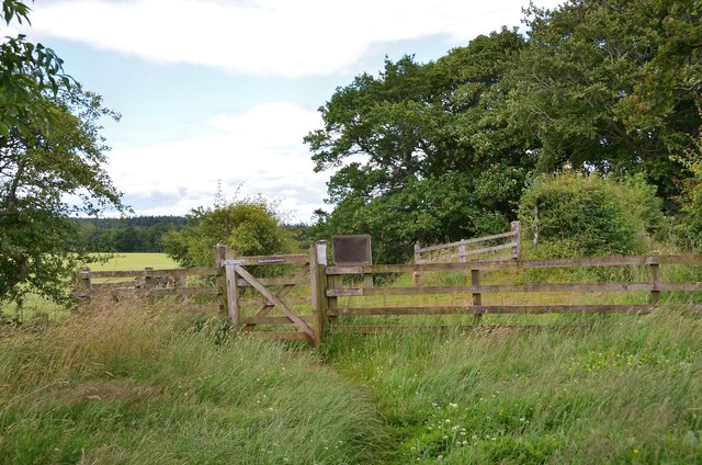 Path to Whiterigg and Newtown St Boswells