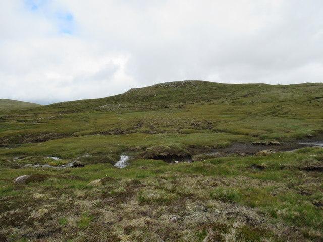 Hard ground across the bog east of Gairbeinn on upper Speyside