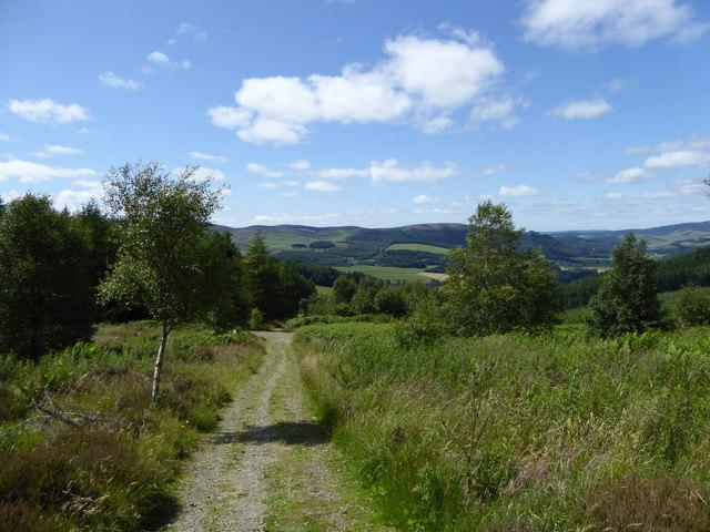Southern Upland Way at Minchmoor