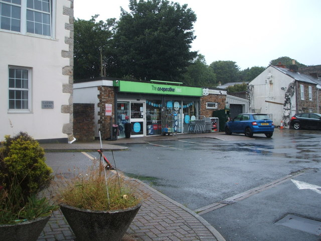 Co-operative food store, Redruth