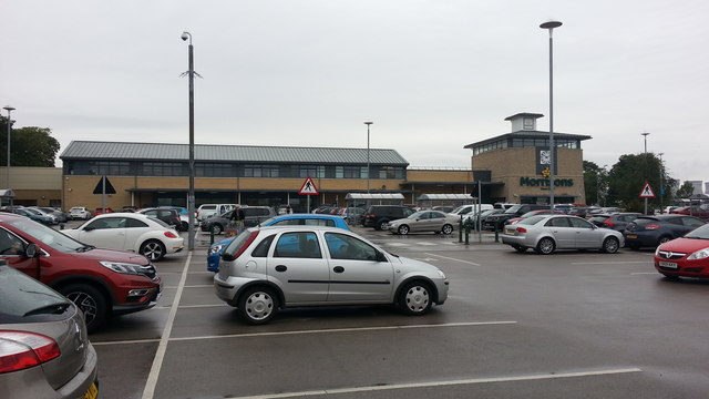 Morrisons superstore, Knottingley