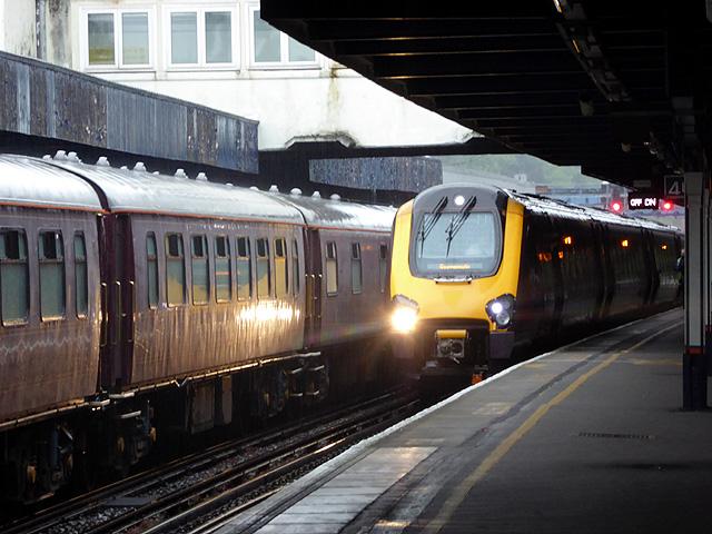 Trains at Southampton