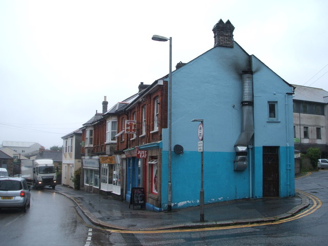 Shops on Chapel Street, Redruth