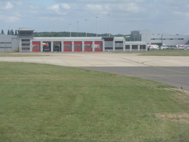 London Stansted Airport Fire Station