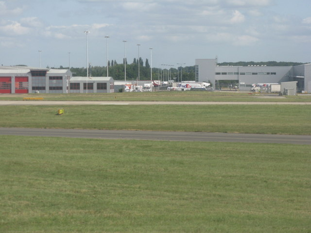 FedEx depot at London Stansted Airport