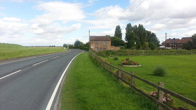 Swinefleet Road at Goole Mill