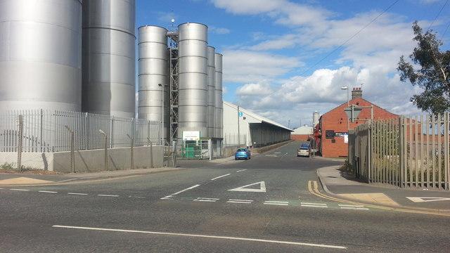 Warehouses and silos, Goole Docks