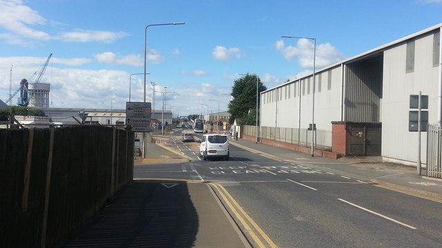 Bridge Street at Albert Road