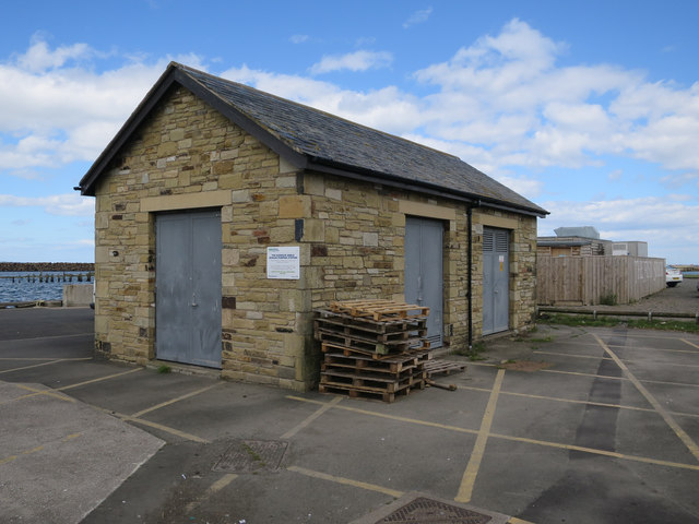 Sewage pumping station, Amble Harbour