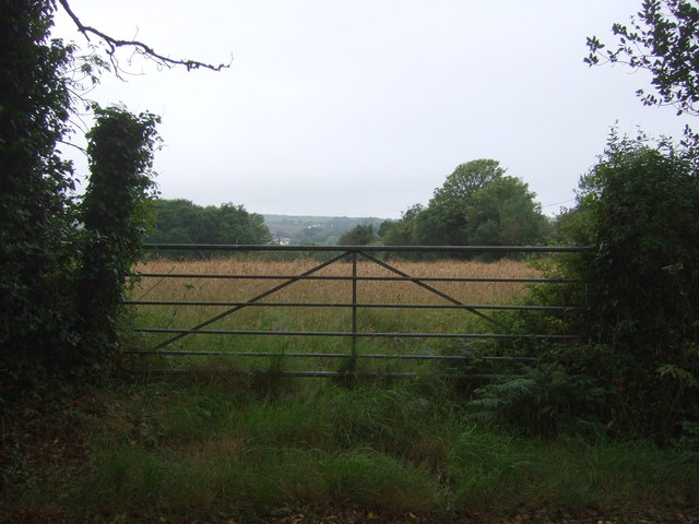 Field entrance off National Cycle Route 3
