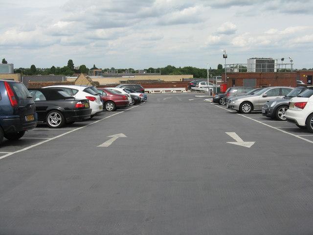 Car park in Huntingdon