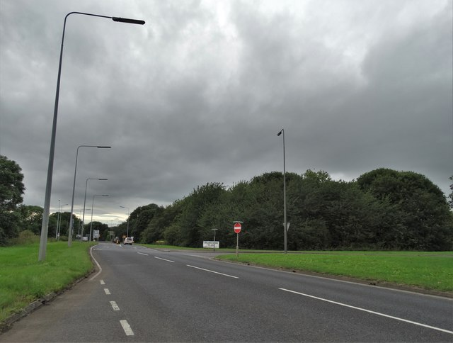 Junction of the A18 and A161 south of Ealand