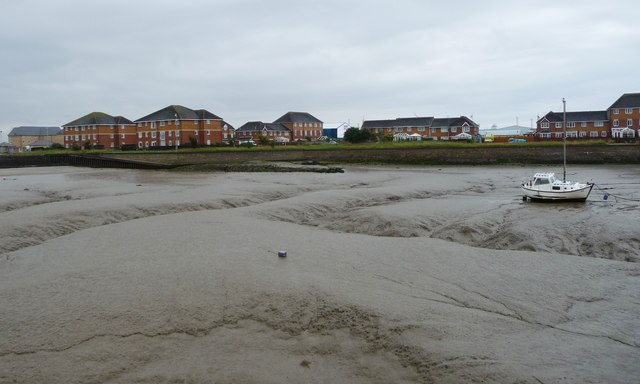 Quayside housing off Anchorage Road, Fleetwood