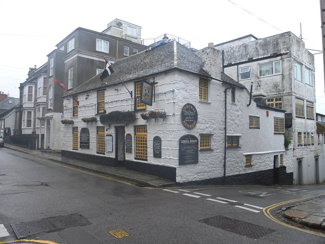 The Admiral Benbow, Chapel Street, Penzance