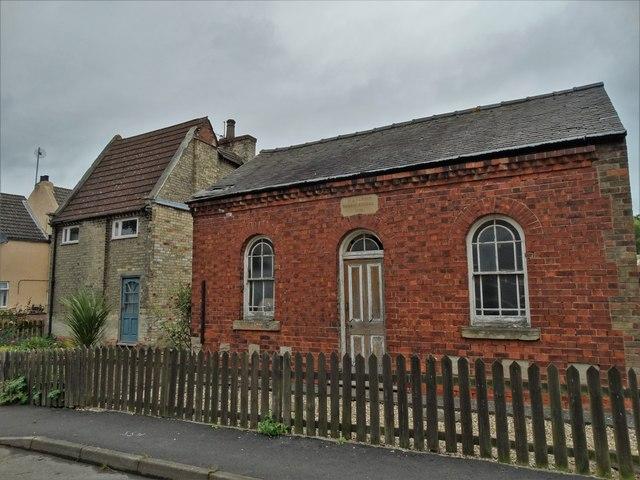 The old Wesleyan Sunday School in Amcotts (1884)