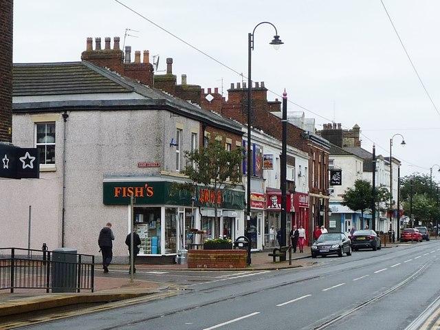 Shops on Lord Street, Fleetwood