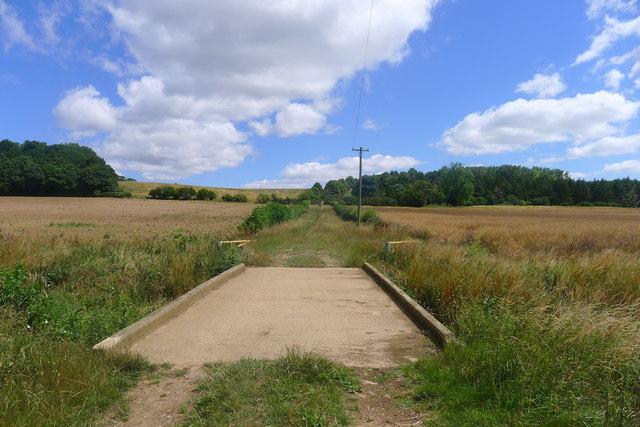 Park Lane (bridleway) over West Glen River