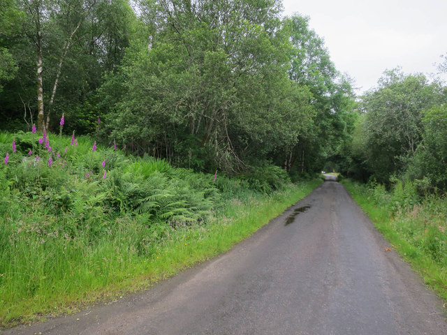 B8077 in Strath of Orchy