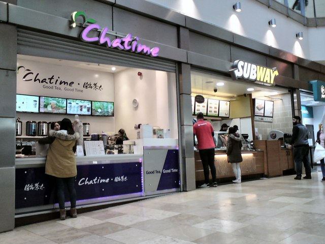 Chatime and Subway