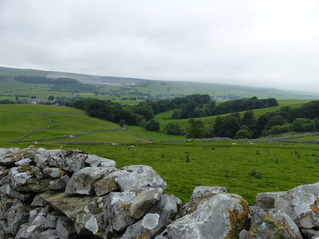 Overlooking Douk Ghyll Plantation