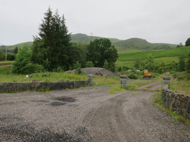 Building plot, Strath of Orchy