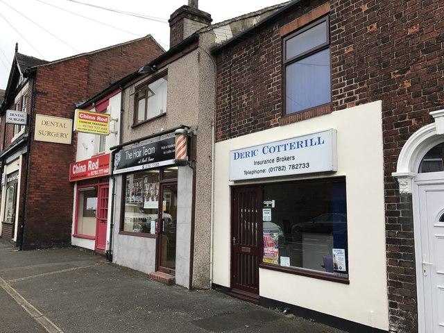 Businesses on Congleton Road, Butt Lane