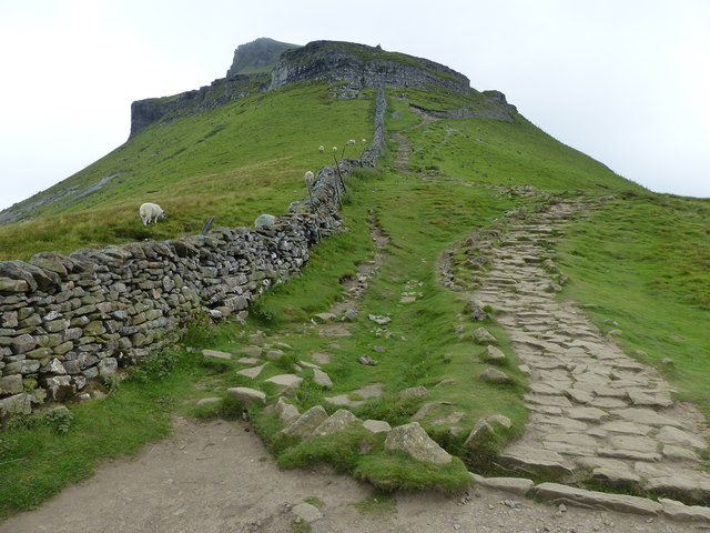 Southern approach to Pen-y-ghent
