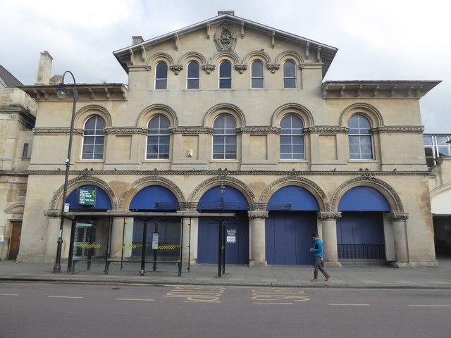 The former bar: Sir Isaac Pitman