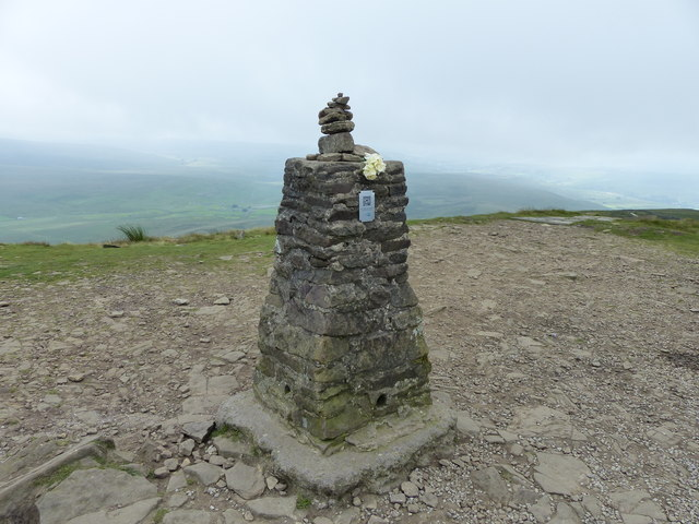 Pen-y-ghent Triangulation Pillar