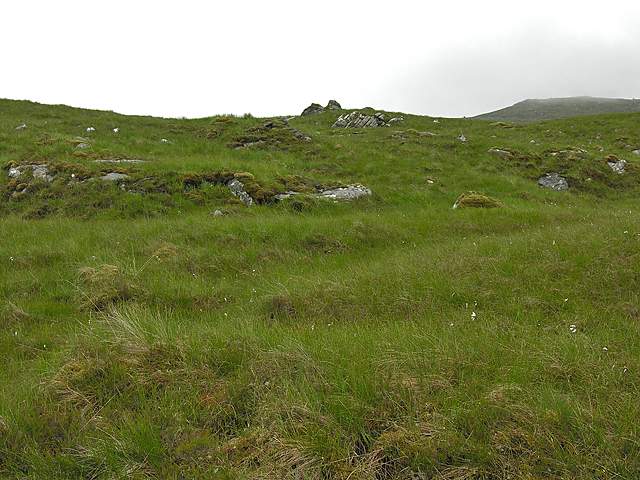 Hillside south of the Dirrie More