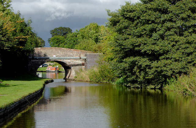 Coachman's Bridge near Tetchill in Shropshire