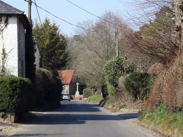 Winchester Road in Micheldever
