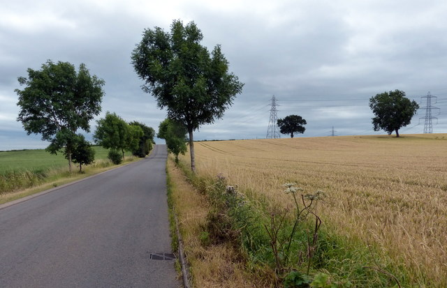 Beggar's Lane towards Enderby
