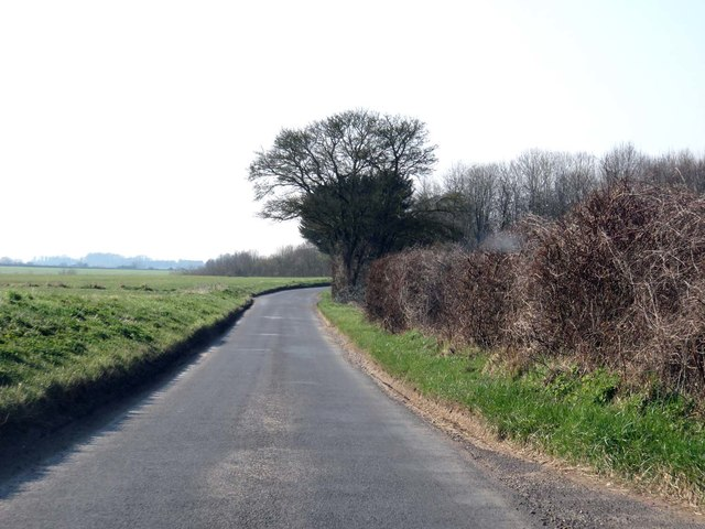 Rural road to Stoke Charity