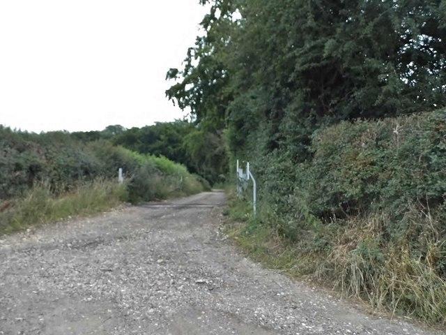 Track off Ledgemore Lane