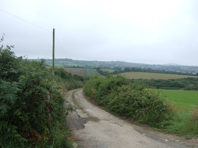 Track (bridleway) to Parc-an-Camps