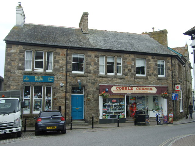 Shops and Post Office, Marazion