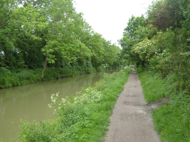 Kennet and Avon Canal on edge of Bradford-on-Avon
