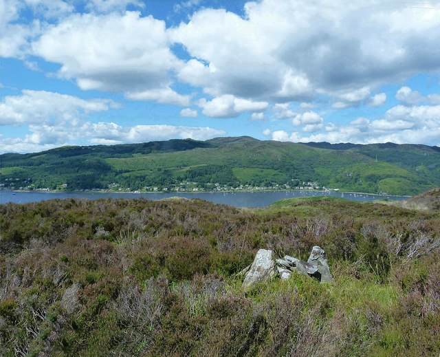 Split Craig Hill - Isle of Bute