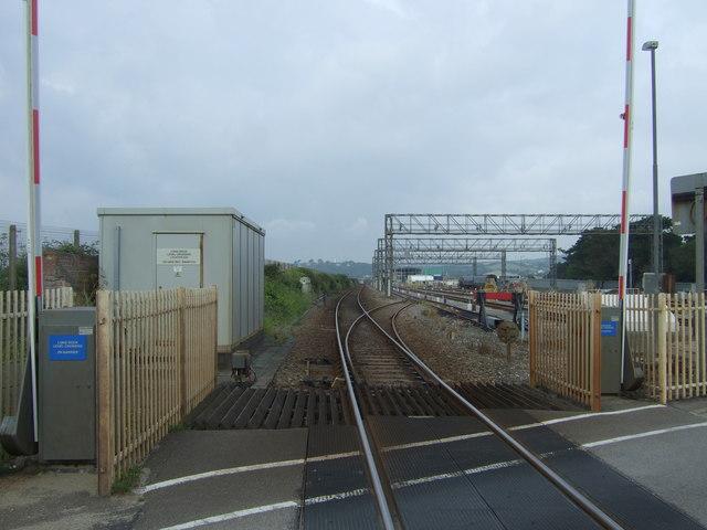 Railway towards Penzance