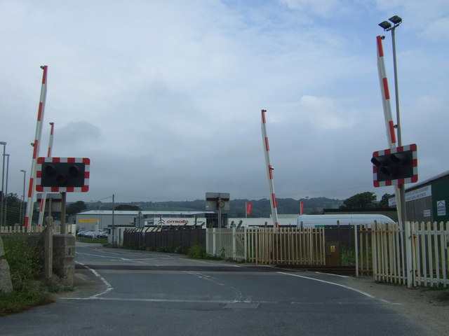 Longrock Level Crossing