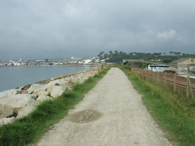 South West Coast Path towards Penzance