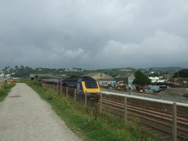 Great Western HST heading for Penzance