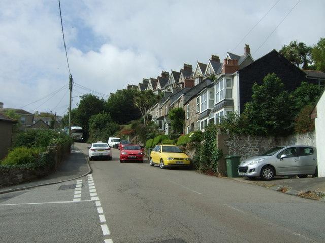 Chywoone Hill (B3315), Newlyn