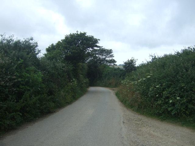 Minor road near Penmennor Farm