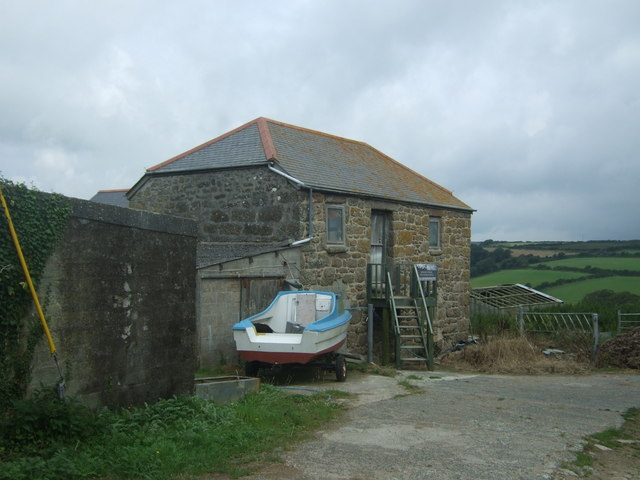 Stone barn, Tregadgwith